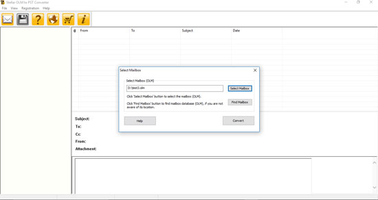 Click to view Stellar OLM to PST Converter 3.0 screenshot